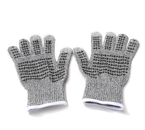 HPPE spun silicone gloves